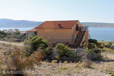 Property Vidalići (Pag) - Accommodation 9382 - Apartments near sea with pebble beach.