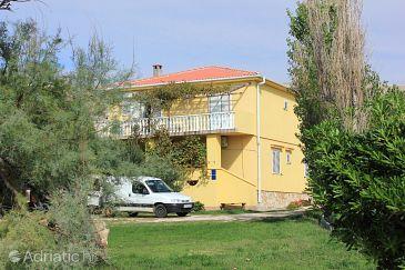 Property Dinjiška (Pag) - Accommodation 9386 - Apartments near sea with pebble beach.