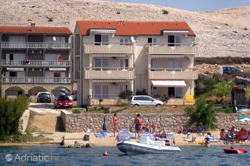 Property Vidalići (Pag) - Accommodation 9392 - Apartments near sea with pebble beach.