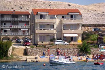 Vidalići, Pag, Property 9392 - Apartments blizu mora with pebble beach.