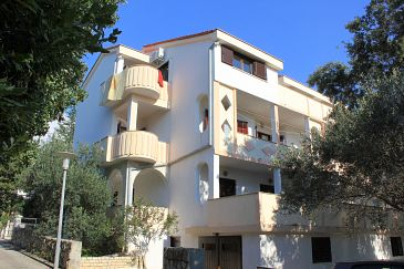 Property Novalja (Pag) - Accommodation 9402 - Apartments near sea with pebble beach.