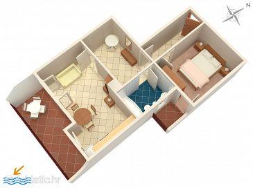 Apartment A-941-c - Apartments Seget Vranjica (Trogir) - 941