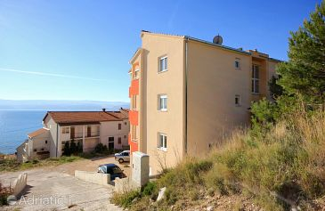 Property Duće (Omiš) - Accommodation 9437 - Apartments with sandy beach.