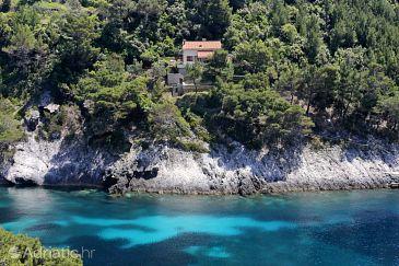 Property Uvala Bačva (Korčula) - Accommodation 9475 - Vacation Rentals near sea.