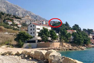 Property Medići (Omiš) - Accommodation 9505 - Vacation Rentals with pebble beach.
