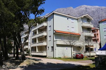 Property Baška Voda (Makarska) - Accommodation 9507 - Apartments with pebble beach.