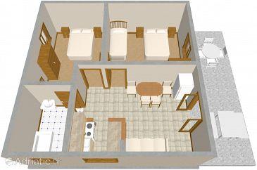 Apartment A-958-b - Apartments Žaborić (Šibenik) - 958