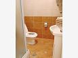 Bathroom - Studio flat AS-9654-b - Apartments Drvenik Donja vala (Makarska) - 9654