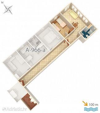 Apartment A-966-d - Apartments Grebaštica (Šibenik) - 966