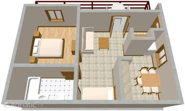 Apartment A-967-b - Apartments Pisak (Omiš) - 967