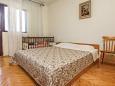 Slatine, Bedroom 1 u smještaju tipa apartment, dopusteni kucni ljubimci i WIFI.