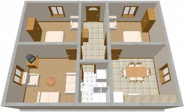 Apartament A-980-a - Apartamenty Seget Vranjica (Trogir) - 980