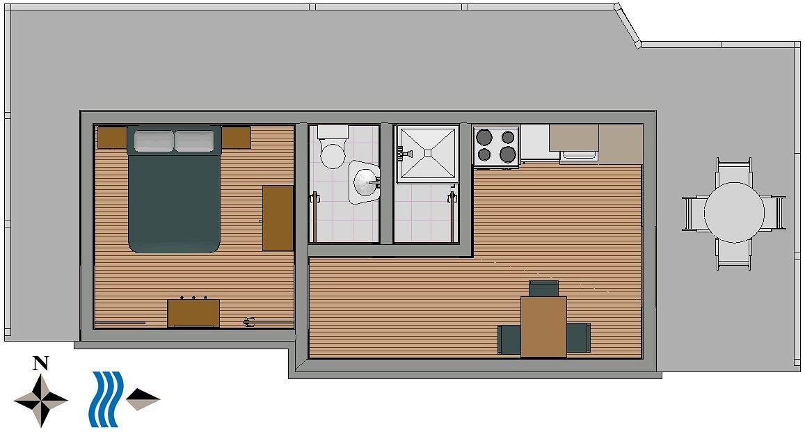Apartmány s parkoviskom v meste Lučica - 990