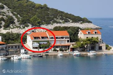 Property Zaklopatica (Lastovo) - Accommodation 993 - Apartments near sea.