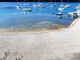 Pláž  na místě Trget, Raša.