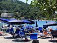 Plaža Lapad u mjestu Dubrovnik, Dubrovnik.
