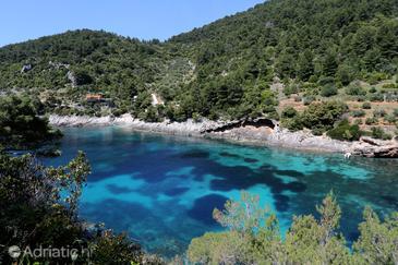 Uvala Bačva on the island Korčula (Južna Dalmacija)