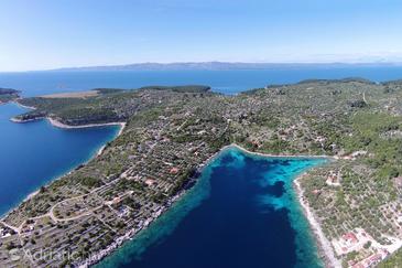 Uvala Stratinčica na otoku Korčula (Južna Dalmacija)