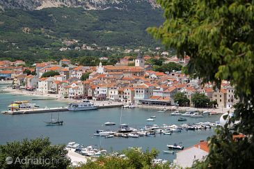Baška on the island Krk (Kvarner)