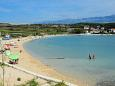 Nearest beach - Apartments Caska (Pag) - 4089