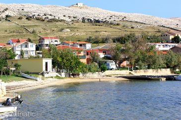 Dinjiška on the island Pag (Kvarner)