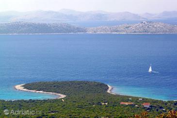 Uvala Zuborovica na otoku Pašman (Sjeverna Dalmacija)