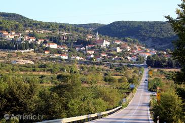 Nerežišća na otoku Brač (Srednja Dalmacija)