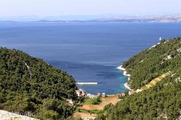 Stiniva (Brusje) na otoku Hvar (Srednja Dalmacija)