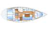 Yacht charter Bavaria 37 | C-SY-171 - Plans