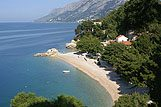 Panoramic view of Brela, Makarska Riviera